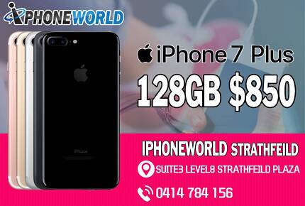iPHONE 7 PLUS  128GB   Good condition From $850 #