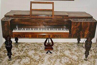 Antique Table Piano, Hornung and Moller, Danish Design, 1848