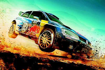 Blechschild 20 x 30 cm, VW Motor Sport