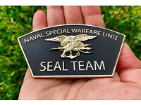 USN NAVY SEALS SEAL TEAM 6 VI BONE FROG NSW PATCH CHALLENGE COIN CPO CHIEF MESS
