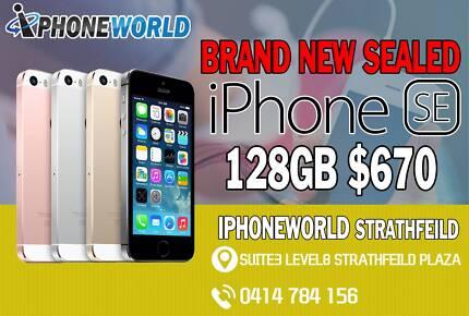 BRAND NEW SEALED IPHONE SE 128GB UNLOCKED #