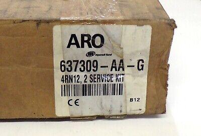 Aro Ingersoll Rand Diaphragm Pump Repair Kit 637309-aa-g Santoprene