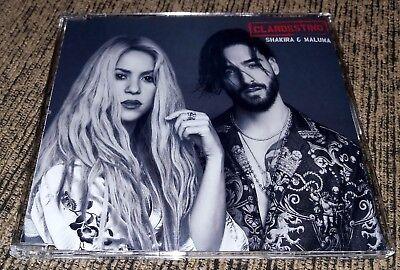 Cd Single Shakira   Clandestino  Feat  Maluma    Brazil