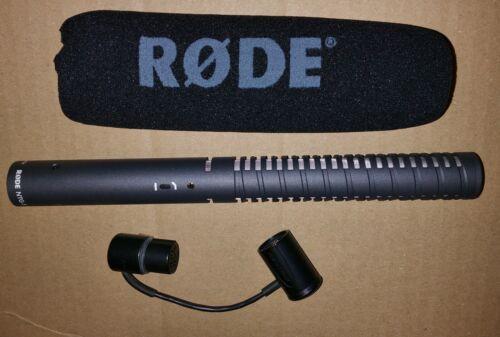 RØDE NTG-1 Condenser Shotgun Microphone w/ Wind foam & XLR Cable, Rode NTG1 Mic