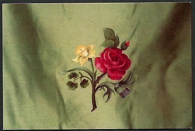 1977 Silk Banner on Westminster Abbey Cloisters of Roses for QEII Silver Jubilee - Silk Banner