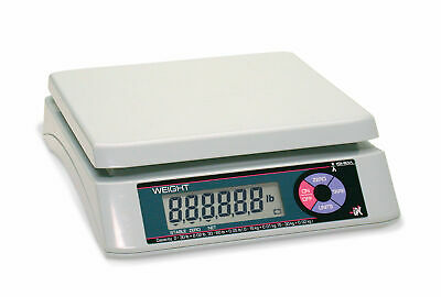 Rice Lake 75455 Ishida Ipc 15lb Single Display Portable Bench Scale