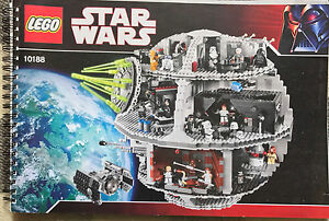 Star Wars Lego Death Star 10188 100% complete