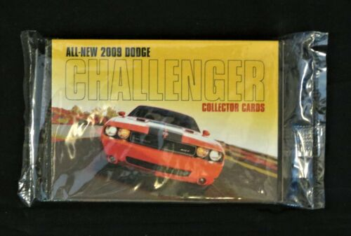 2009 Dodge Challenger Pre-Launch Collector Cards - Sealed Package - Promo Item