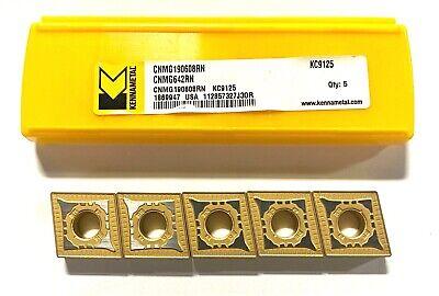 Kennametal Carbide Insert Cnmg642rn Grade Kc9125 Turning Inserts 5 Pack