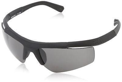 Under Armour UA Core Men's Sunglasses Satin Black Frame Grey Lens + Hard (Under Armour Core Sunglasses)