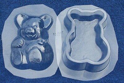 TEDDY BEAR POUR BOX CANDY MOLD GRADUATION DIY BABY SHOWERPARTY FAVORS USED Teddy Bear Candy Mold