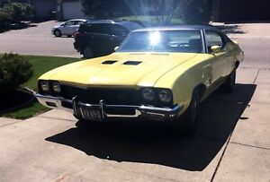 WANTED: Front spoiler for 70, 71 or 72 Buick GS or GSX