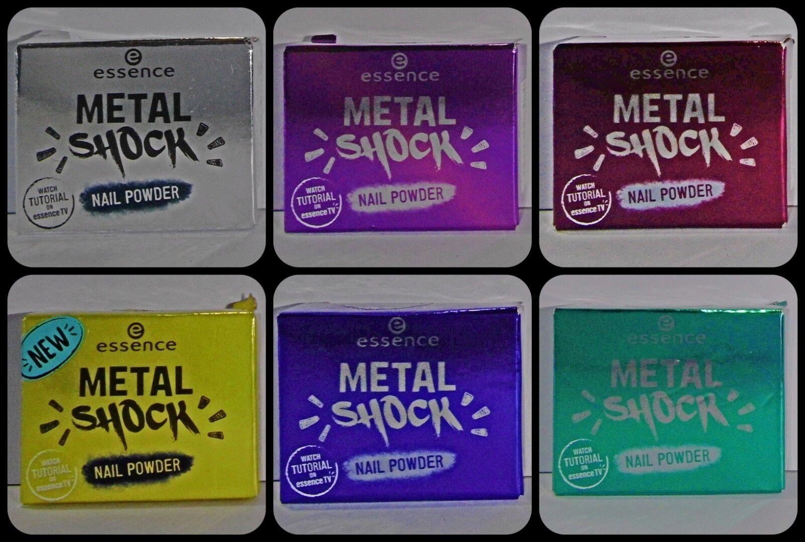 Essence Metal Shock Nail Powder, Nagelpuder für Spiegelglanzeffekt