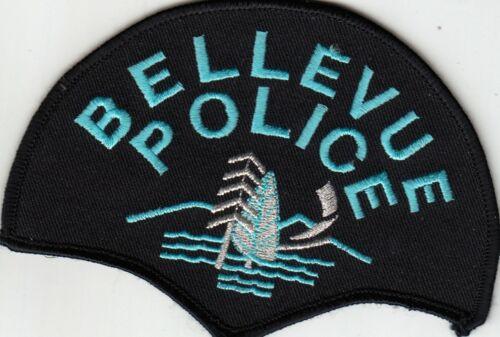 BELLEVUE POLICE SHOULDER PATCH WASHINGTON WA SIL