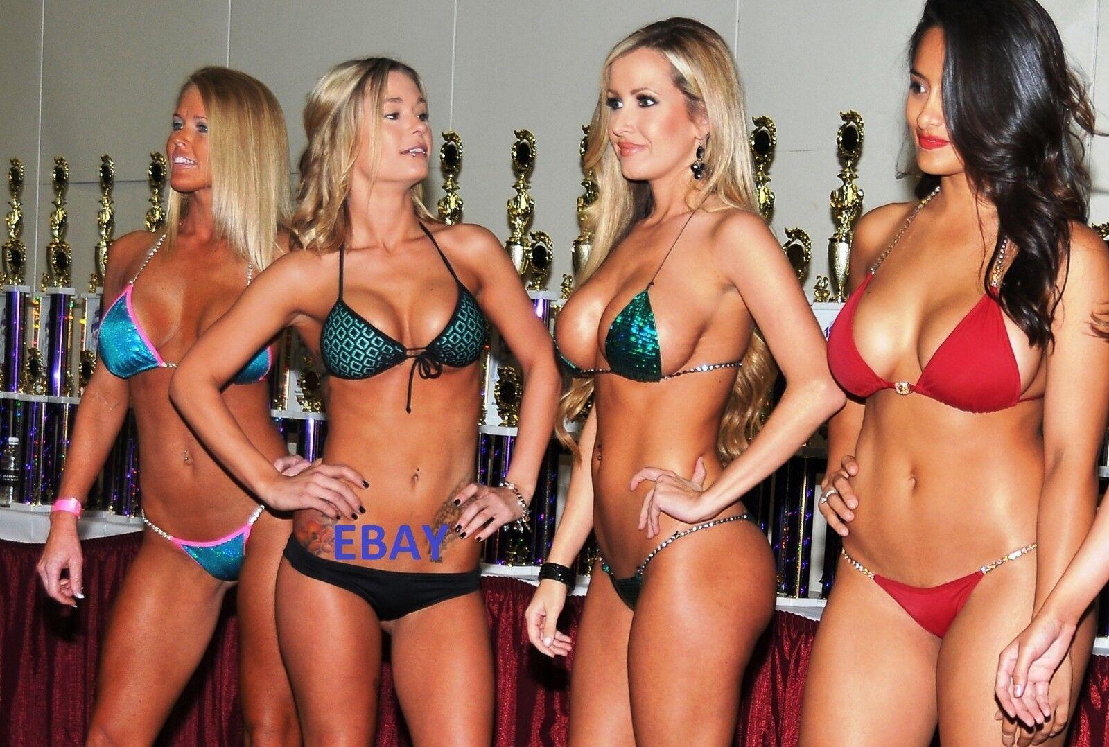 Изображение товара Springbreak Hooters Bikini Contest 4X6 Photo Picture 361