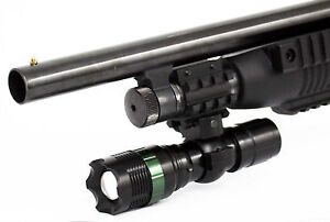 Trinity 300 Lumen Tactical Flashlight With Mount for 12 Gauge Mossberg 590a1