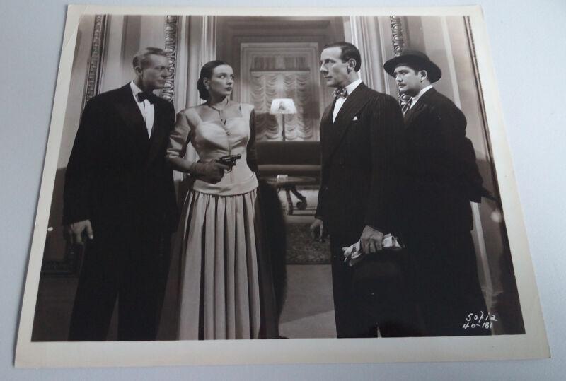Sofia '48 GENE RAYMOND PATRICIA MORISON JOHN WENGRAF GEORGE BAXTER