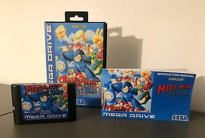 Mega Man Wily Wars - Reproduction - SEGA Mega Drive PAL -...