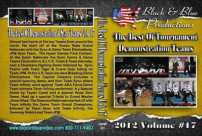 2012 Best Karate Martial Arts Tournament Demo Teams & Forms #17 DVD kata