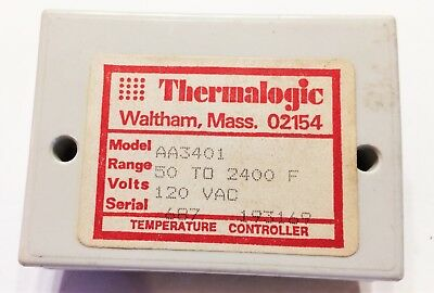 Thermalogic Aa3401 Temperature Controller Range 40400 F J 120vac