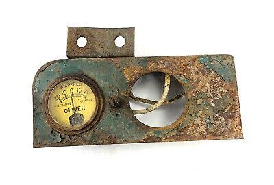 Instrument Panel - Cletrac Hg Oliver Hg Oc-3 Cletrac Crawlersdozersloaders
