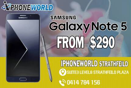 SAMSUNG GALAXY NOTE 5 32GB  USED GOOD CONDITION #
