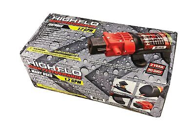 Fimco 5151086 1.2 Gpm 12 Volt High Performance Hi Flo Diaphragm Sprayer Pum...