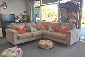 TODAY DELIVERY COMFORTABLE MODERN BIG L shape corner sofa SALENOW Belmont Belmont Area Preview