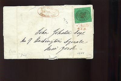 Scott #20L4 BOYD'S CITY EXPRESS Used Stamp On Nice Cover (Stock #20L4-2)