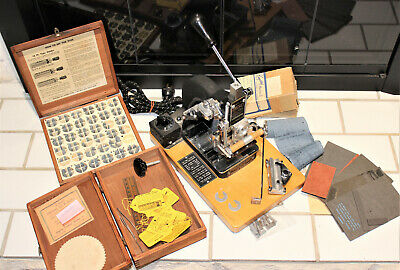 Kingsley M-50 Hot Foil Stamping Machine Type Box Foil Accessories Box Lot