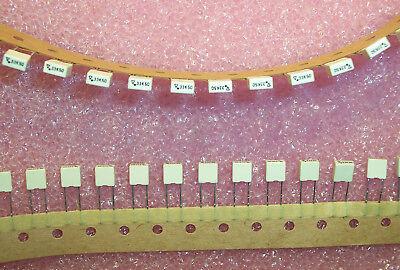 Qty 100 .33uf 50v 10 Boxed Polyester Film Capacitors R85cc3330ck Arcotronics