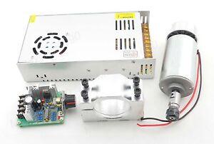 CNC-Spindle-0-3KW-Motor-ER11-power-supply-speed-controller-Mount-bracket