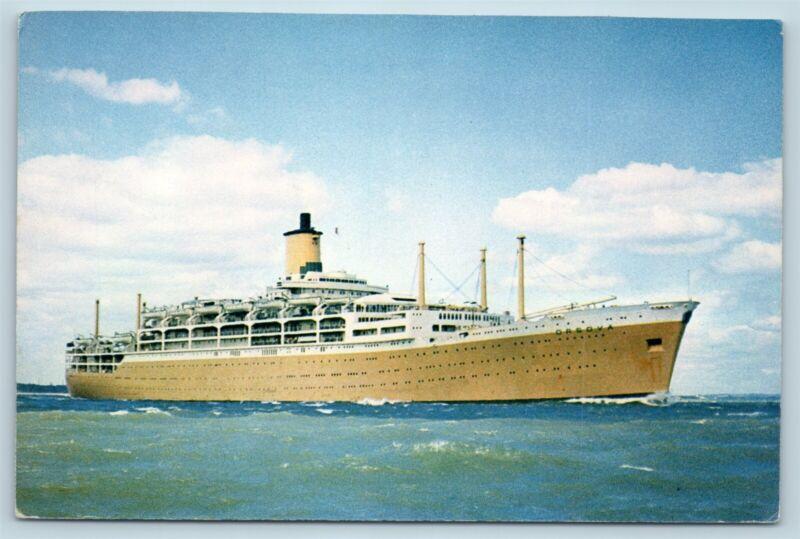 Postcard P&O Orient Lines Orsova Steam Ship J Arthur Dixon V1