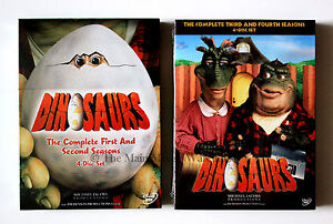 Sinclair Family Dinosaurs TV Show Complete T.V. Series on DVD Jim Henson Sitcom