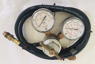 Smith Pressure Regulator For Argon 221037 With Hoses
