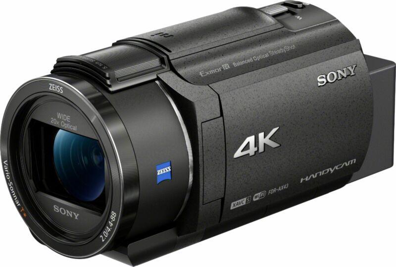 Open-Box Excellent: Sony - Handycam AX43 4K Camcorder - Black