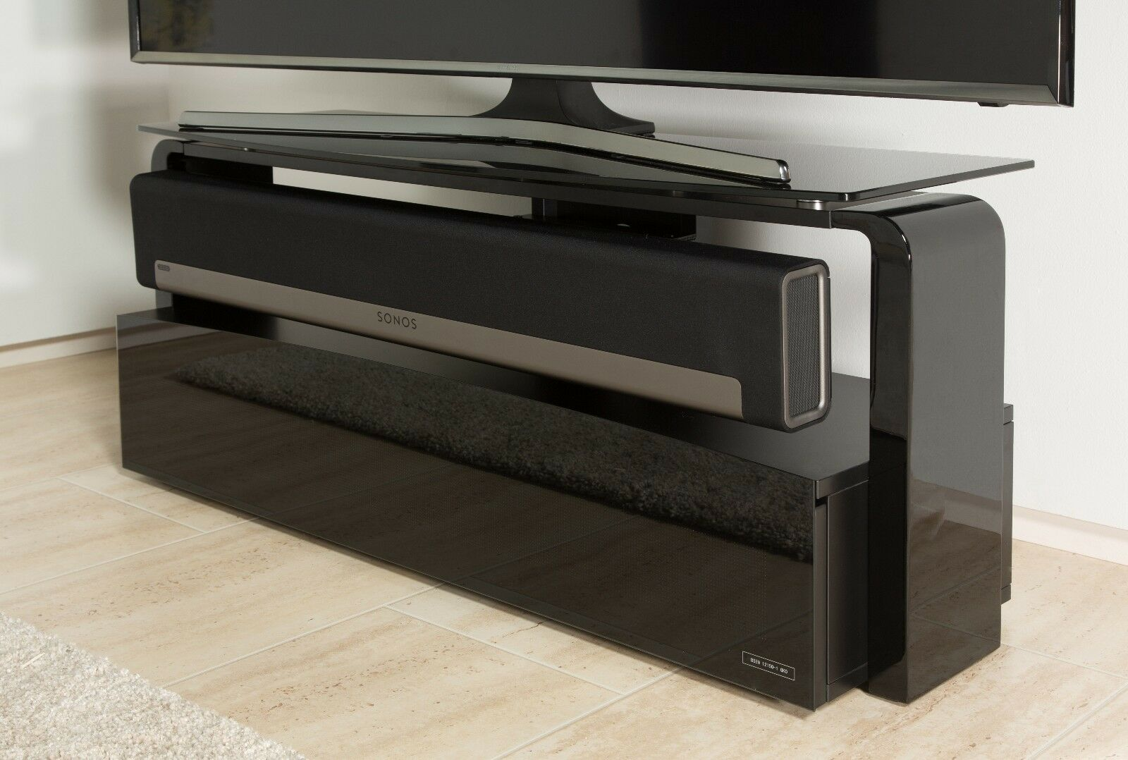 Alphason Sonos Playbar Tv Stand Cabinet With Built In