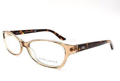 Ralph Lauren RL 6068 5217 Eyeglasses Glasses Transparent Light Brown 55-15-130