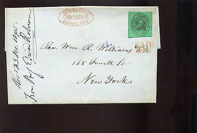 Scott #20L4 BOYD'S CITY EXPRESS Used Stamp On Nice Cover (Stock #20L4-3)