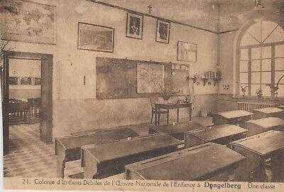 DONGELBERG   COLONIE D'ENFANTS DEBILES DE L' ONE   UNE CLASSE   CARTE POSTALE