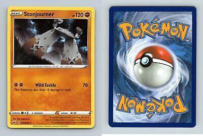 Rare Mint NM Pokemon TCG Card Stonjourner 114//202