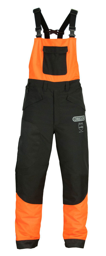 Portwest Oak Chainsaw Safety Workwear Bib and Brace Dungarees