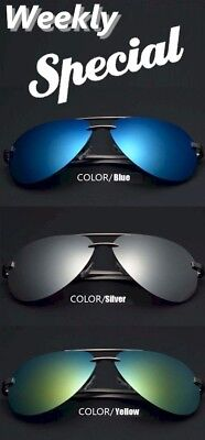 Unisex Retro Polarized Mirrored Colors Lens Sunglasses, Cleaning Cloth Storage  (Cleaning Polarized Lenses)