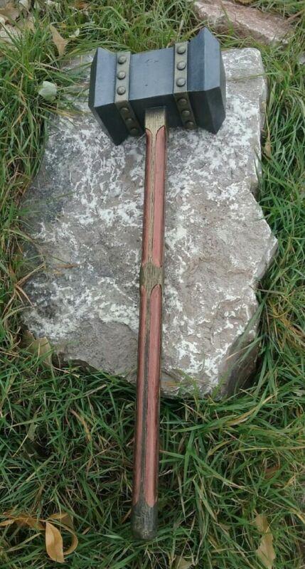 Hand made Wooden Viking war hammer