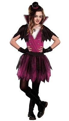 Victorian Vampire Teen Tween Juniors Goth Vamp Beautiful Creatures Night - Tween Vampir Kostüm