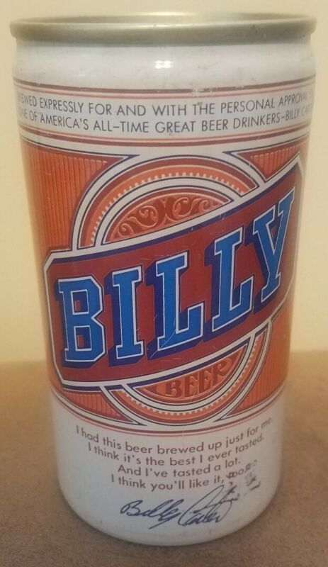 Vintage Billy Beer Open Pull Tab 12oz Empty Beer Can