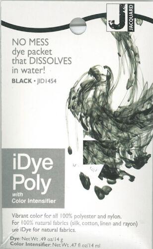 IDye Poly Black  454  zum Färben von Polyester und Nylon, Polyester Farbe