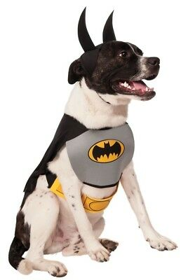 Haustier Hund Katze Batman Dc Comics Halloween Party Kostüm Kleid Kostüm Outfit (Haustier Katze Kostüme Batman)