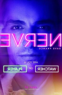 Nerve Movie Poster 1 Sided Original Advance 27X40 Dave Franco