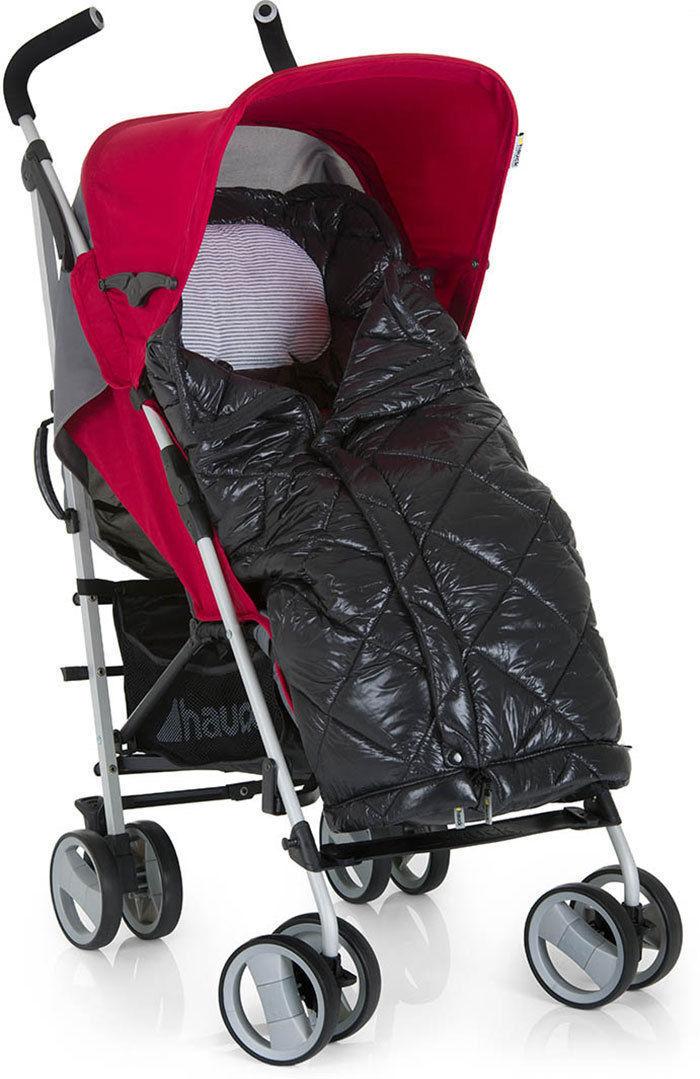 Hauck Warn Me Footmuff Pushchair Stroller Quilted Winter Cosytoe Universal Black